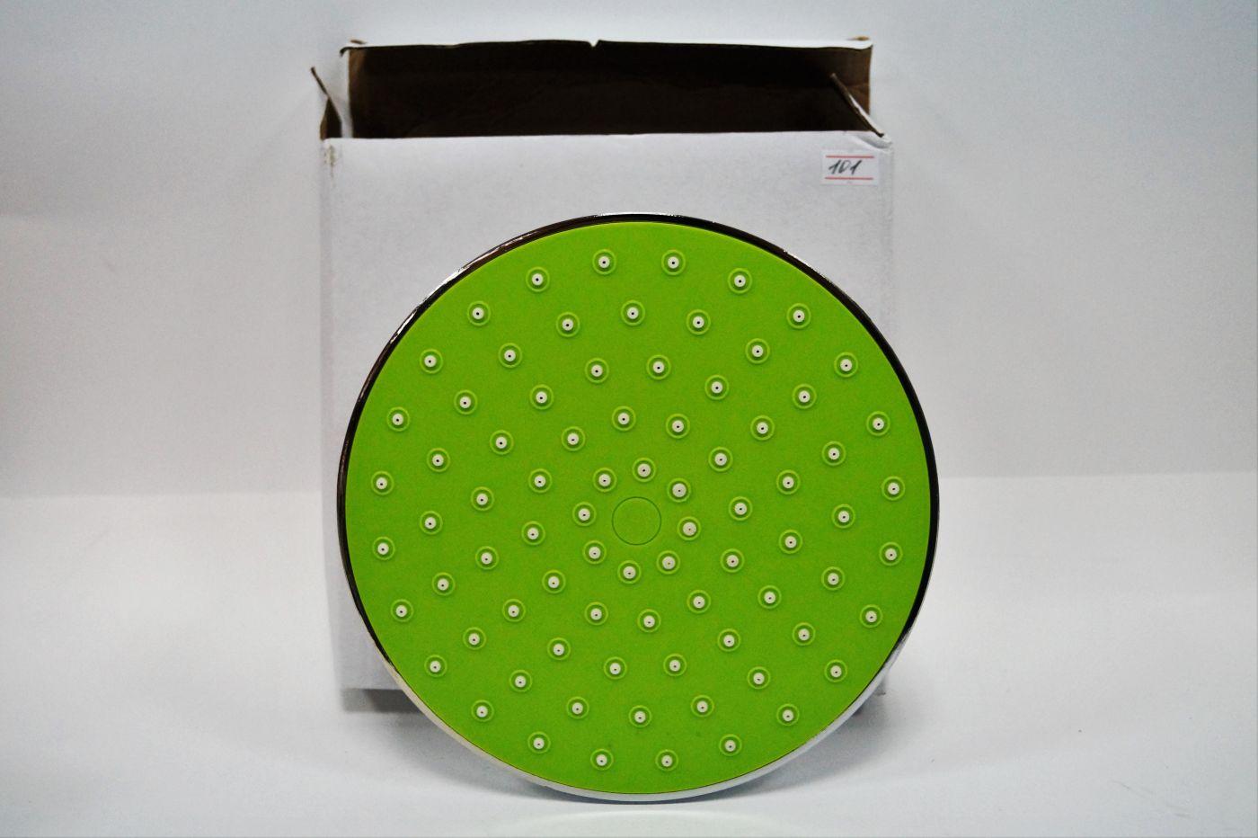 АА-101, зеленая потолочная лейка для душевой системы, 200 мм